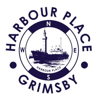 Navy Blue Harbour Place Grimsby Logo cropped webedit