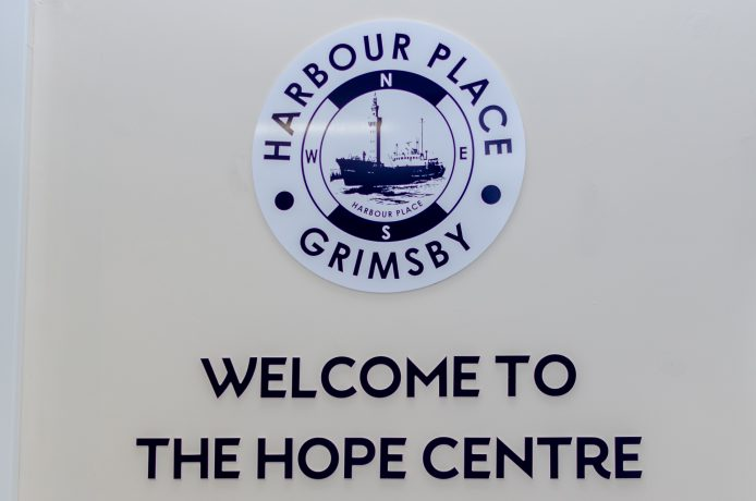 The Hope Centre signage